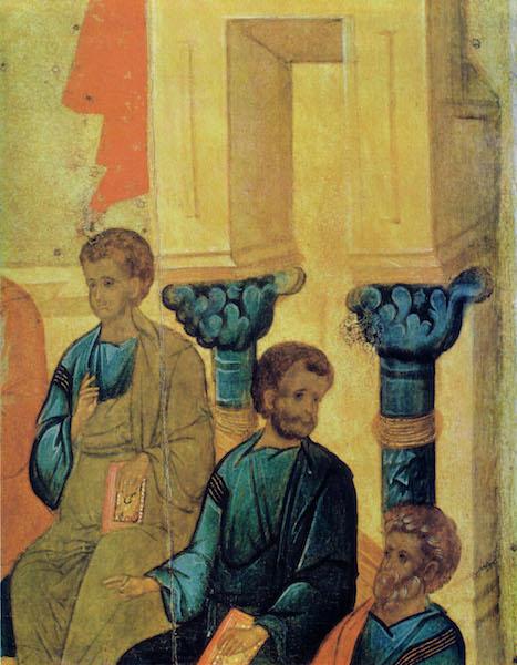2. Сошествие Святаго Духа на апостолов. Деталь