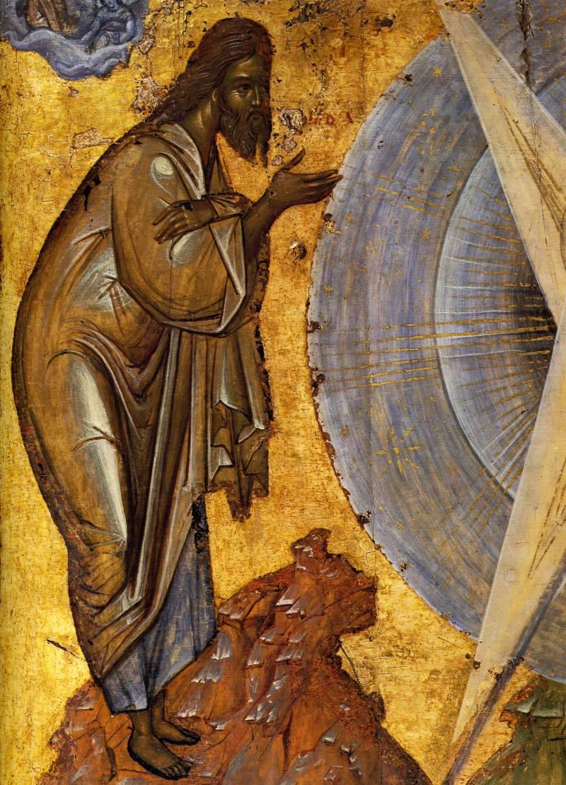 2. Пророк Илия. Преображение. 1403 г. Школа Феофана